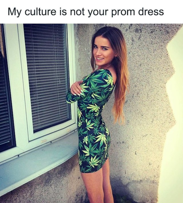 My Culture Is Not Your Prom Dress