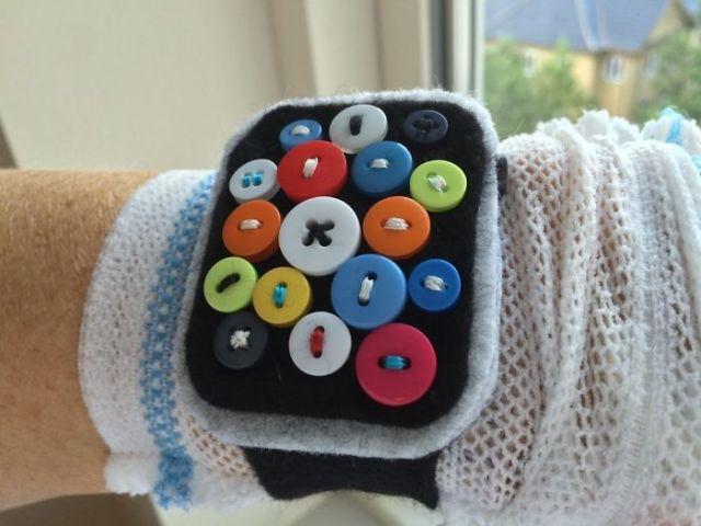 Tras mi intervención del corazón, le dije de broma a mi hermana que me vendría bien un Apple® Watch para monitorizarme. Me ha hecho uno