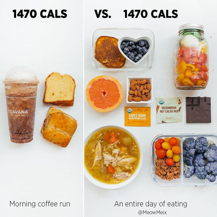 Bg9jEc4nqqh-png__700 Woman Shows How Easy It Is To Lose Weight By Making 20+ Genius Food Swaps Design Random