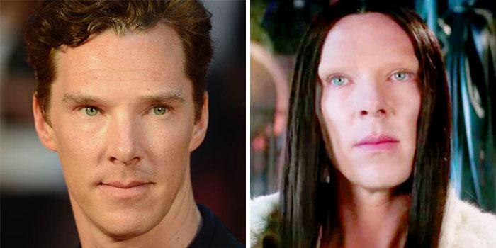 Benedict Cumberbatch  (Doctor Strange)