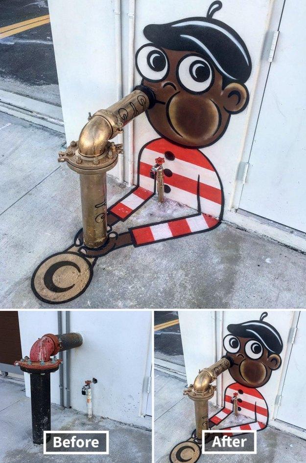 street-art-tom-bob-new-york-city-29-5b169f92e445b__880 Genius Street Artist Is Running Loose In New York, And Let's Hope Nobody Catches Him (30+ New Pics) Art Design Random
