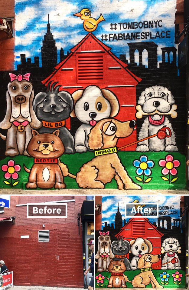 street-art-tom-bob-new-york-city-35-5b169fa80ee89__880 Genius Street Artist Is Running Loose In New York, And Let's Hope Nobody Catches Him (30+ New Pics) Art Design Random