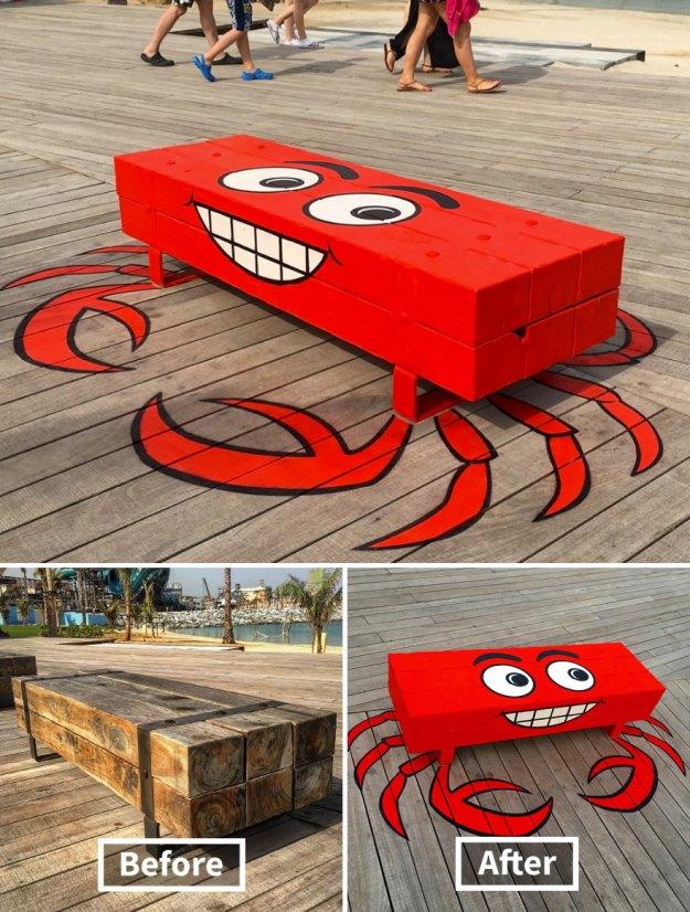 street-art-tom-bob-new-york-city-4-5b169f5596a37__880 Genius Street Artist Is Running Loose In New York, And Let's Hope Nobody Catches Him (30+ New Pics) Art Design Random