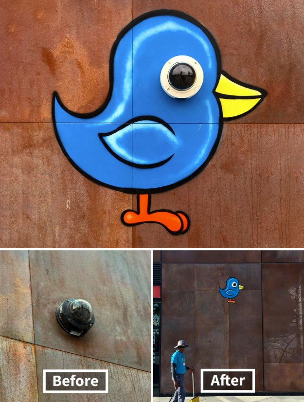 street-art-tom-bob-new-york-city-6-5b169f5991c58__880 Genius Street Artist Is Running Loose In New York, And Let's Hope Nobody Catches Him (30+ New Pics) Art Design Random