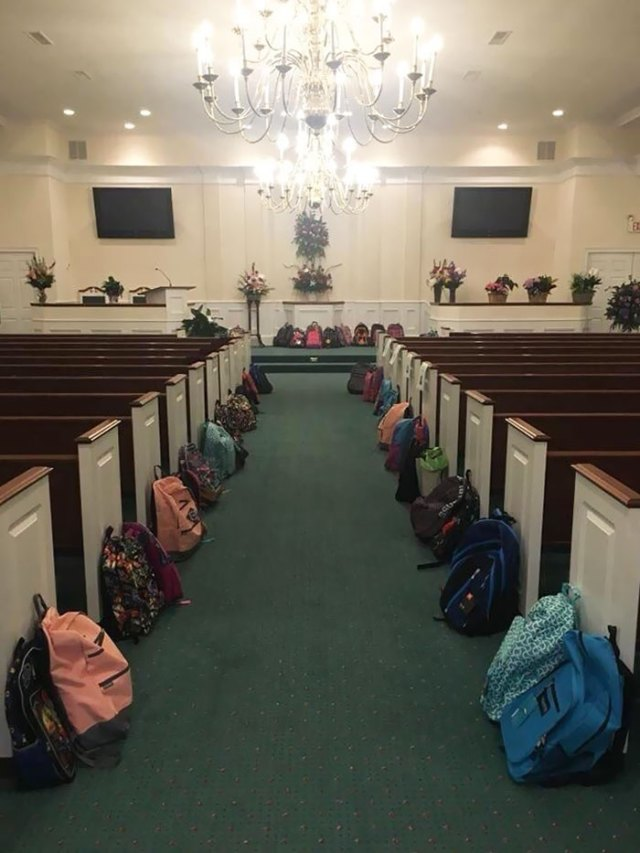 Tammy Waddell Taught At School For 25 Years. Her Obituary Asked That In Lieu Of Flowers, Mourners Should Bring Backpacks Filled With School Supplies, To Honor Her Commitment To Students In Need