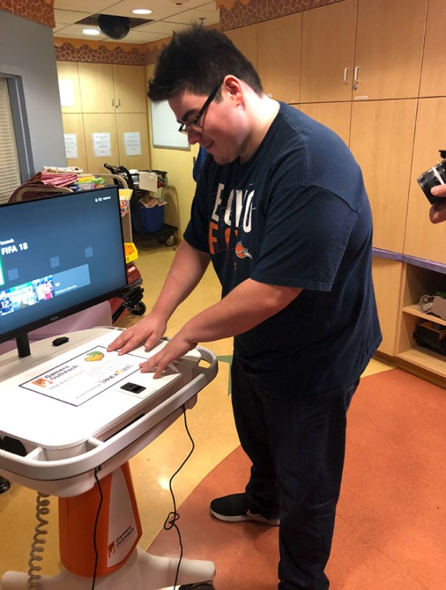 Today, A Dream Came True: I Was Able To Donate Two Gaming Stations To A Local Children's Hospital Raised Purely Through The Gaming Community