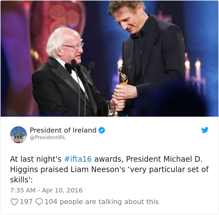 719066198604955648-png__700 Tired Of Your President? Then Take A Look At 15+ Photos Of Ireland's President Being The Best President Design Random