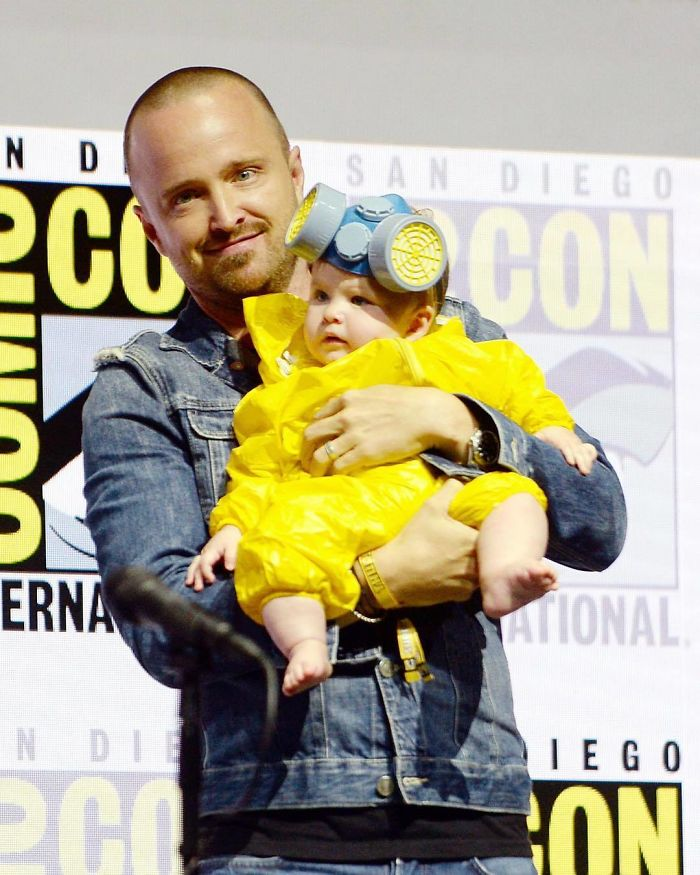Aaron Paul's Daughter Story Annabelle Paul In A Breaking Bad Cosplay