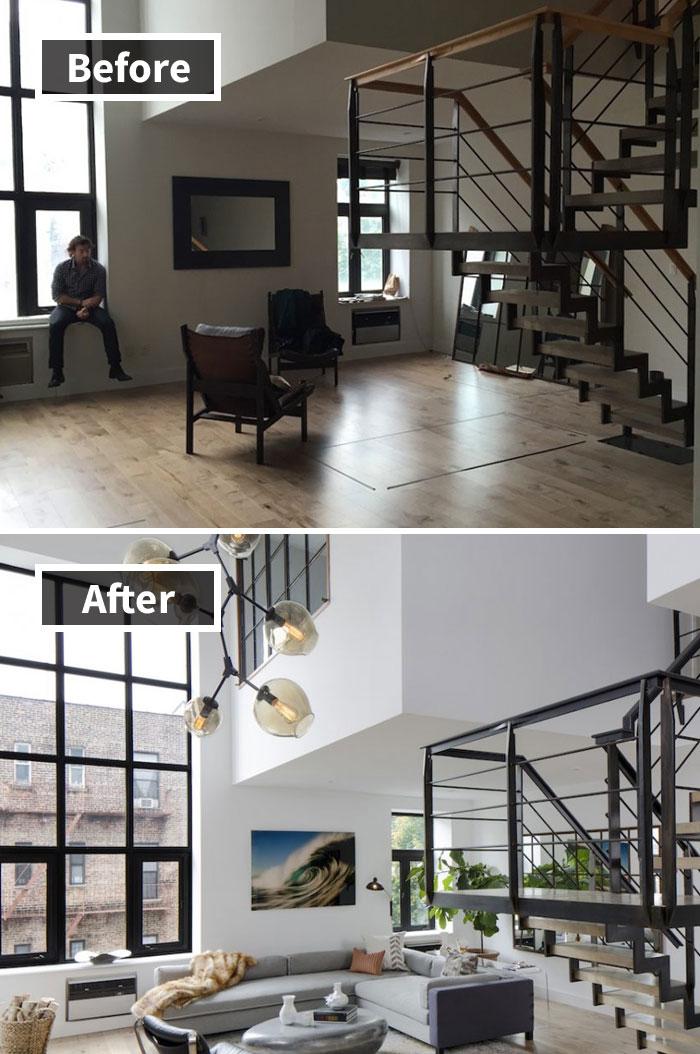 Una antigua duplex Soho obtiene una remodelación interior