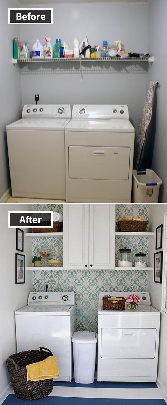 Sala de lavandería Reveal