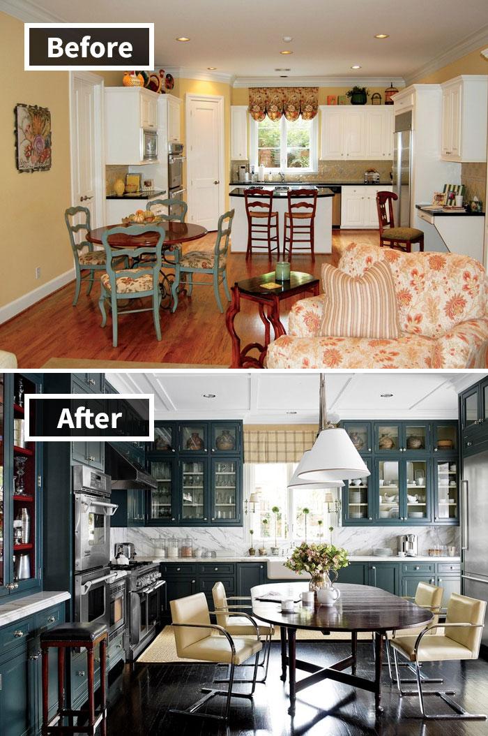 J. Randall Powers transformó un hogar de Houston en una residencia ultra-refinada