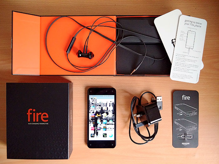 Amazon Fire Phone, 2014
