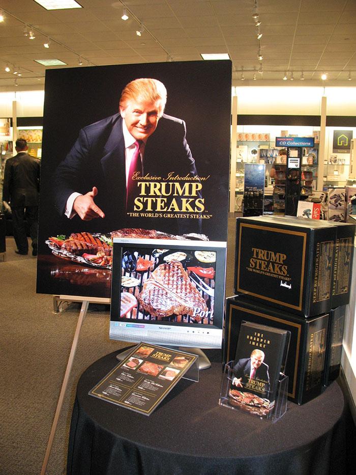 Trump Steaks, Donald Trump, 2007
