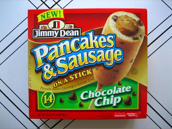 Jimmy Dean Chocolate Chip Pancake-Wrapped Sausage, 2006