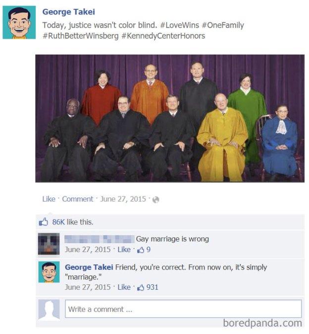 lgbt-funny-comebacks-4-5b471f900a28b__700 20+ Of The Best Comebacks To Homophobic Comments Ever Design Random
