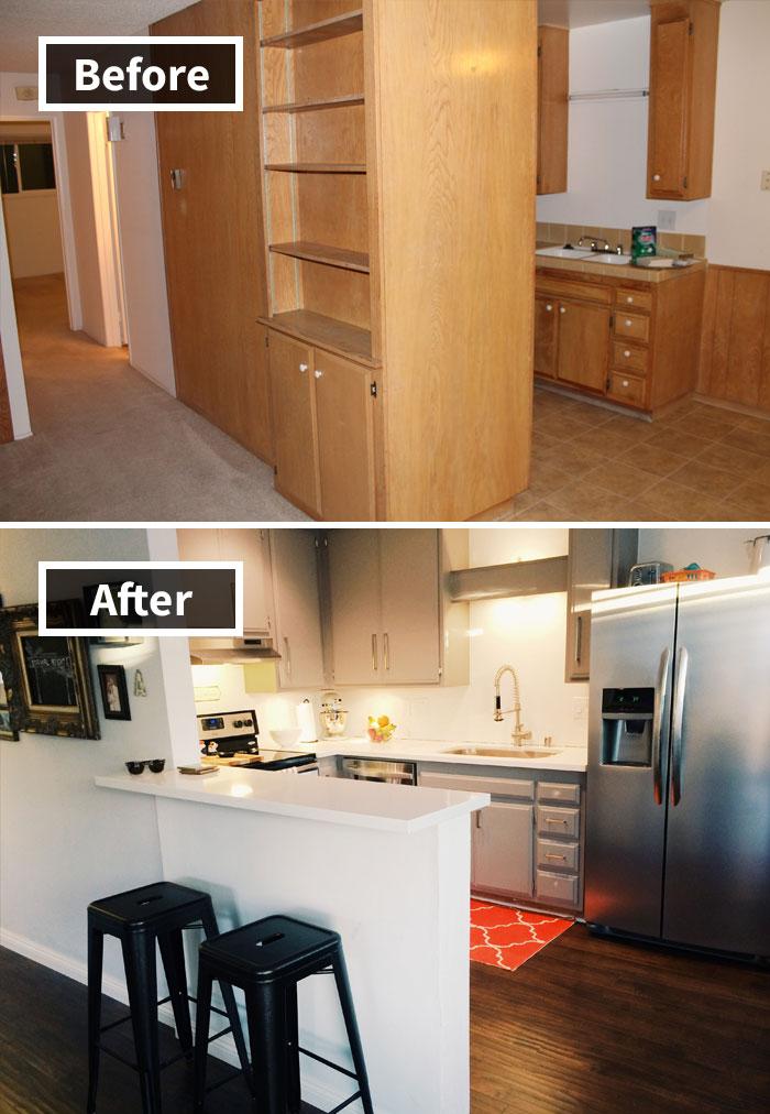 Remodelación del condominio Aproximadamente el 80%
