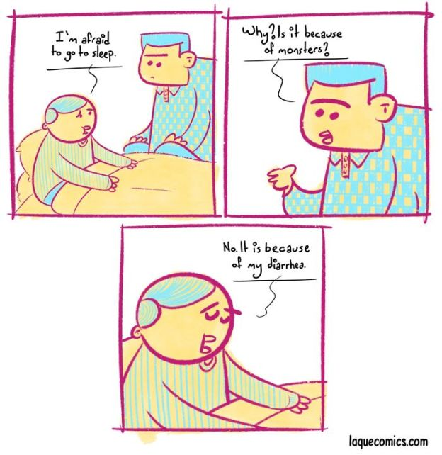 11-5b75914901580__700 25 Darkly Humorous Comics That I Draw To Express My Imagination In Absurd Ways (Part 2) Design Random