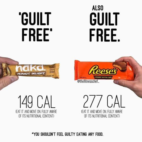 Guilt Free Vs Guilt Free
