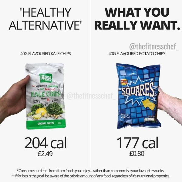 """You're In The Supermarket. You Walk Precariously Down The Crisp Aisle (Or Chips Aisle If You're American). """"Nope, Not This Time! I Need To Lose Weight"""