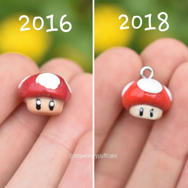 Clay-modeling-artist-showed-how-the-experience-made-him-evolve-and-this-progress-is-very-good-to-see-5b6aac81a8379__700 Artist Tries To Recreate Her Old Artworks, Gets Pleasantly Surprised By How Much She Has Evolved (10+ Pics) Art Design Random