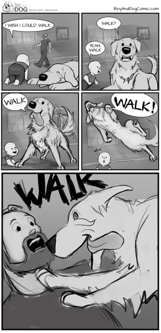 Funny-Baby-Boy-Dog-Comics-Nate-Anderson-49-5b7fbe272be1f__700 Father Illustrates The Friendship Between His Tiny Baby And Giant Dog And The Comics Are Adorable Design Random