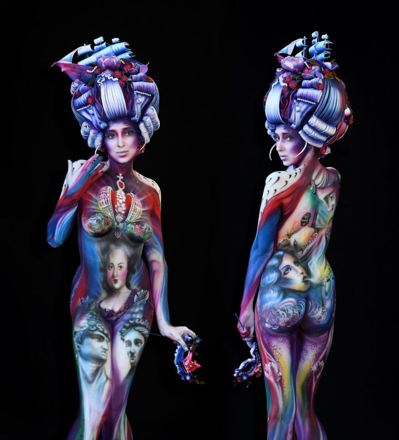 I Photographed The Spectacular Artworks At World Bodypainting Festival 2018 Five Shouts Out