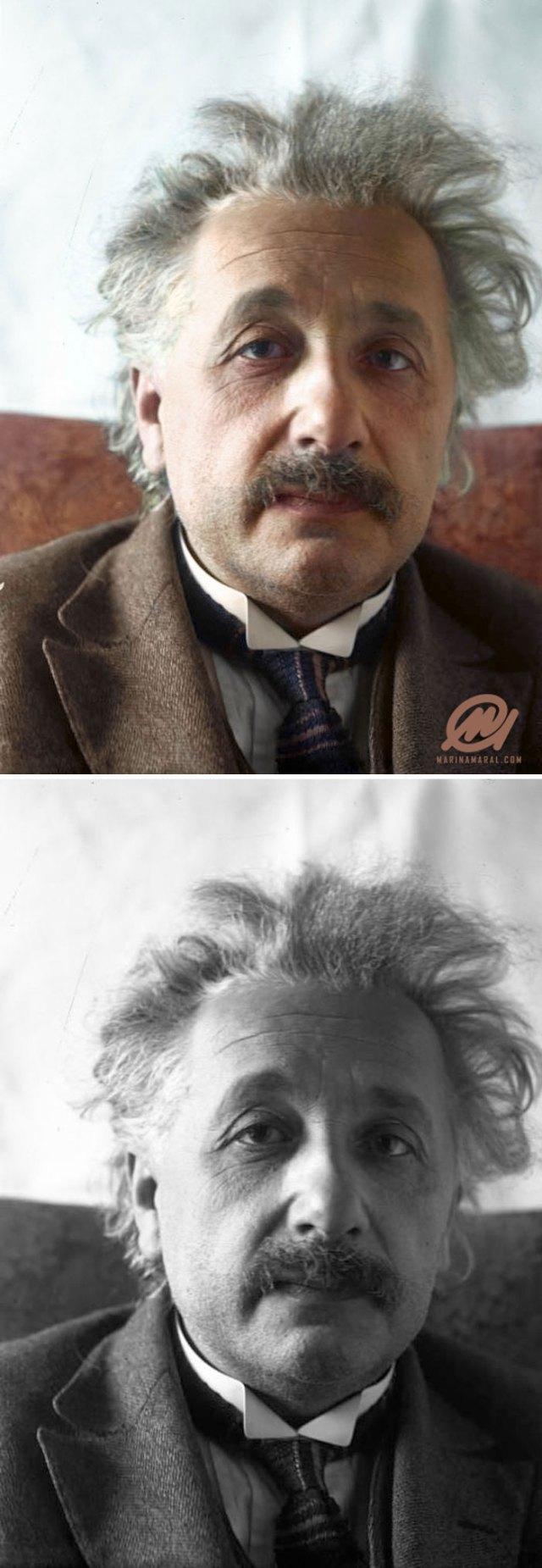 Albert Einstein, 1 de marzo de 1921