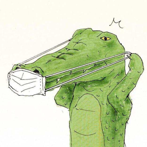 crocodile-life-animals-illustrations-keigo-japan-2-5b7a7cc5966f1__700 20+ Problems Of A Crocodile Hilariously Illustrated By Japanese Artist Keigo Design Random
