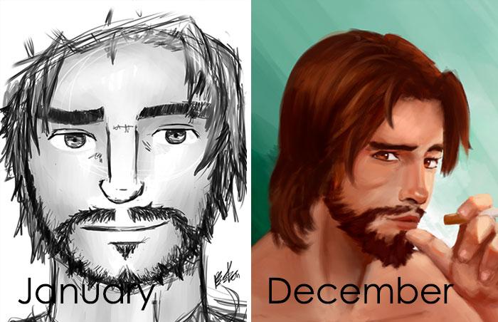 Mejora de un año