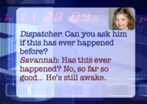 five-year-old-savannah-sick-dad-911-call-jason-bonham-indiana-5-5b76791e56d9c__605 Brave Little Girl Calls 911 To Save Dad's Life, And Her Conversation With The Dispatcher Is Cracking Everyone Up Design Random