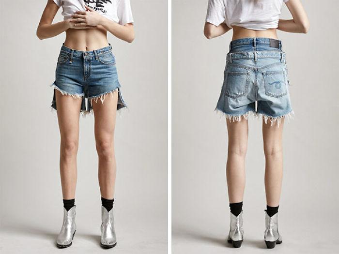 Puedes comprar estos pantalones cortos que te hacen ver como si estuvieras usando 2 pares a la vez por solo $ 565
