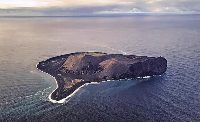 Surtsey, una isla en Islandia
