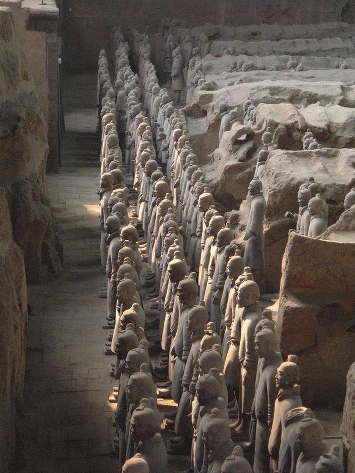 Mausoleum Of The First Qin Emperor, Qin Shi Huang, China
