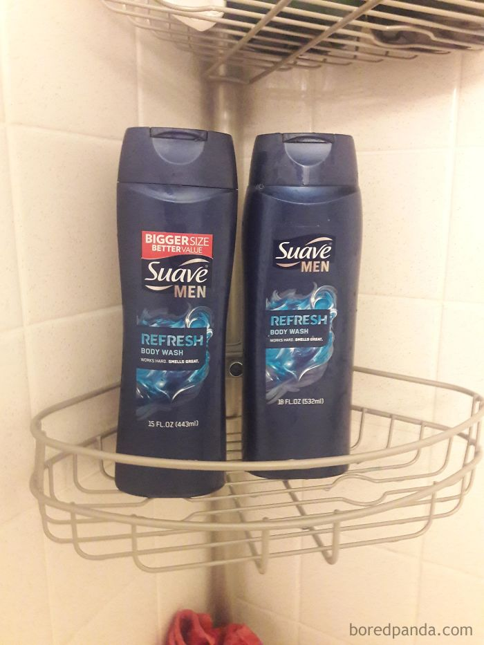 I Would Like To Thank Suave For Increasing The Size Of Their Bottle By -17%
