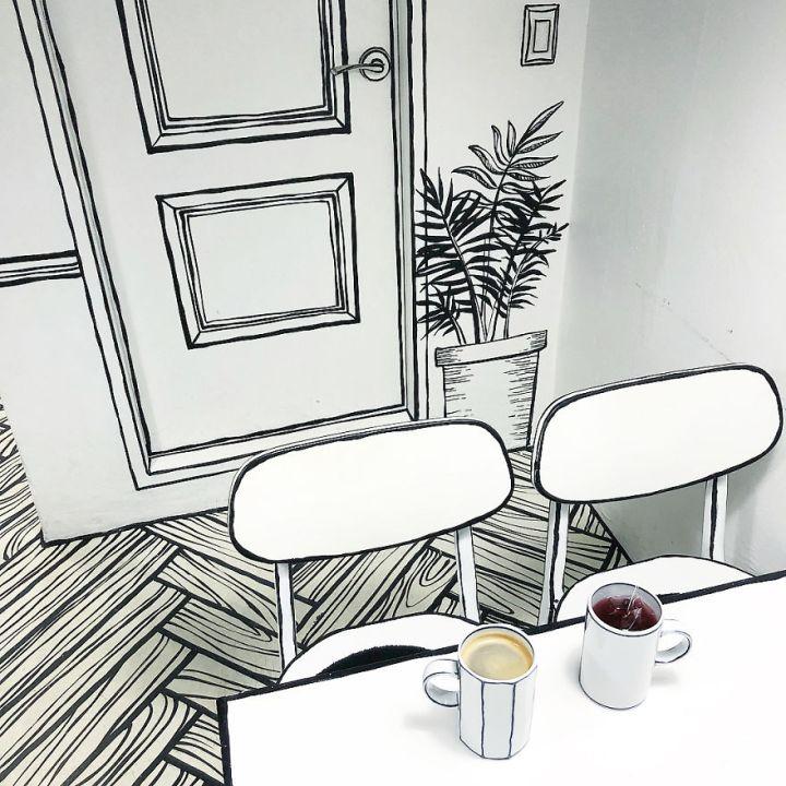 Картинки по запросу comic cafe seoul