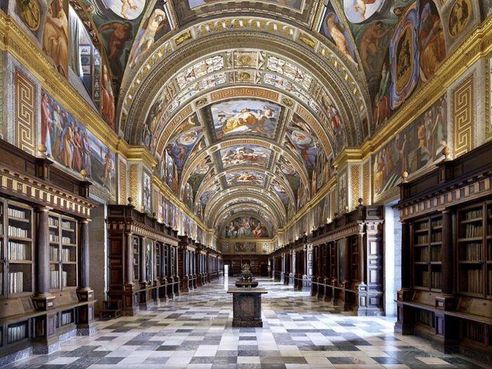 Escorial Library, Madrid, Spain