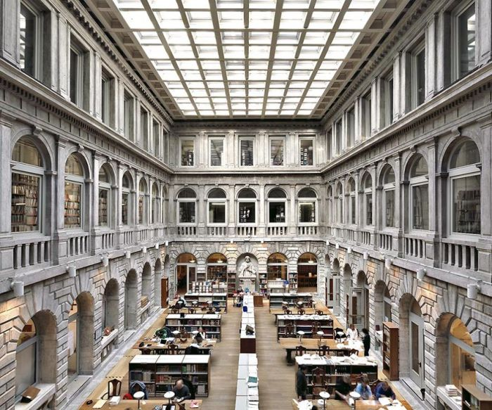 National Library Of St Mark's, Venice, Italy