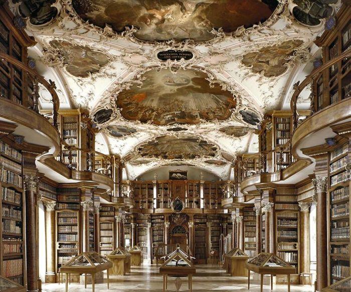 Abbey Library Of Saint Gall, Gallen, Switzerland
