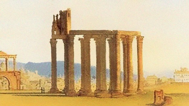 ancient-ruins-mystery-temple-olympian-zeus-athens-5ba367e3a9ad8__700 Guy Notices Something Odd On Top Of Ancient Greek Temple In 1858 Photo, Makes Fascinating Discovery Design Random