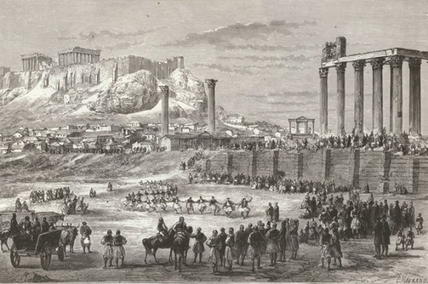 ancient-ruins-mystery-temple-olympian-zeus-athens-5ba36e0a99789__700 Guy Notices Something Odd On Top Of Ancient Greek Temple In 1858 Photo, Makes Fascinating Discovery Design Random