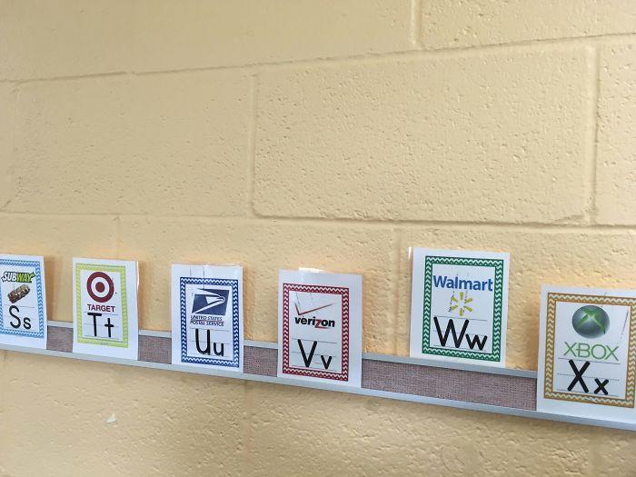 Enseñar a los niños a leer a través de logos