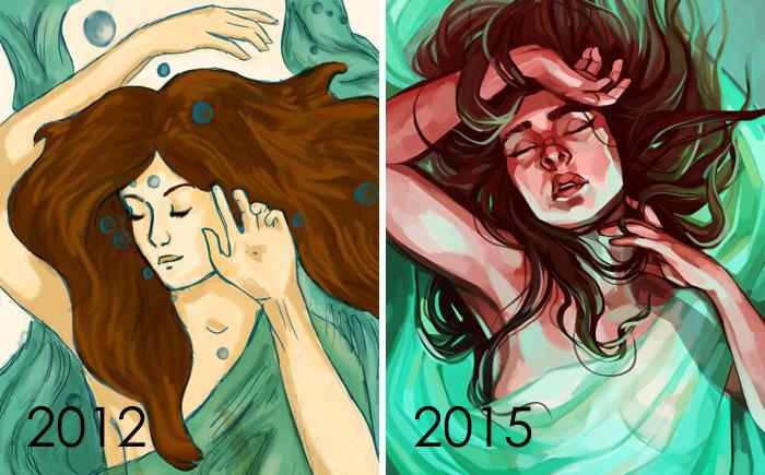 Dibuja esto otra vez: Drowning Maiden