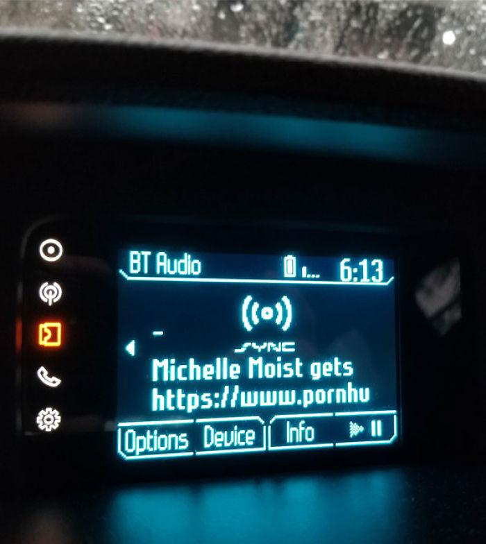 Mi teléfono se conectó automáticamente a mi automóvil cuando Recogidos Madre y suegro ... No se dieron cuenta hasta que lo señalaron
