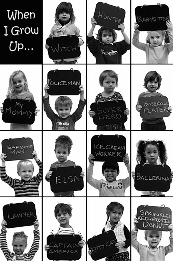 My Old School Asked Kids In Preschool What They Wanted To Be When They Grew Up