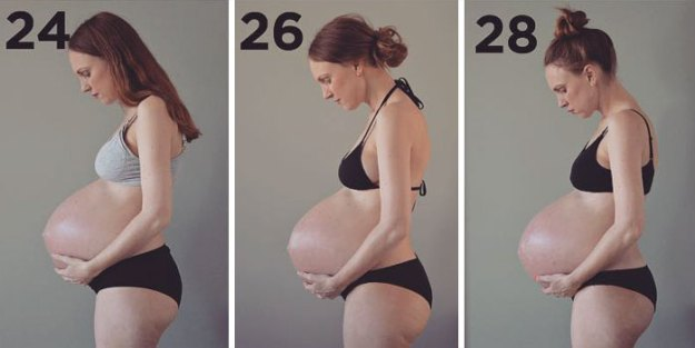 pregnant-triplets-mother-photos-denmark3-5b976494f1834__700 Here's What 3 Kids Growing In One Belly Does To Your Body Design Random