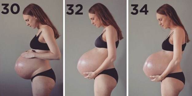 pregnant-triplets-mother-photos-denmark4-5b97649674736__700 Here's What 3 Kids Growing In One Belly Does To Your Body Design Random