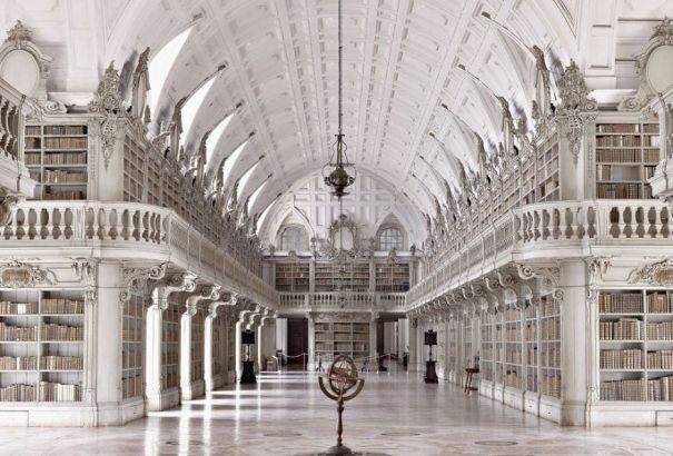 Palace Of Mafra Library, Mafra, Portugal