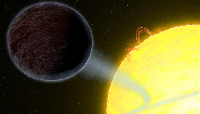 Wasp-12b - um planeta que está comendo luz