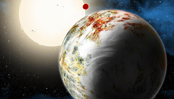 Kepler-10c - uma mega-terra