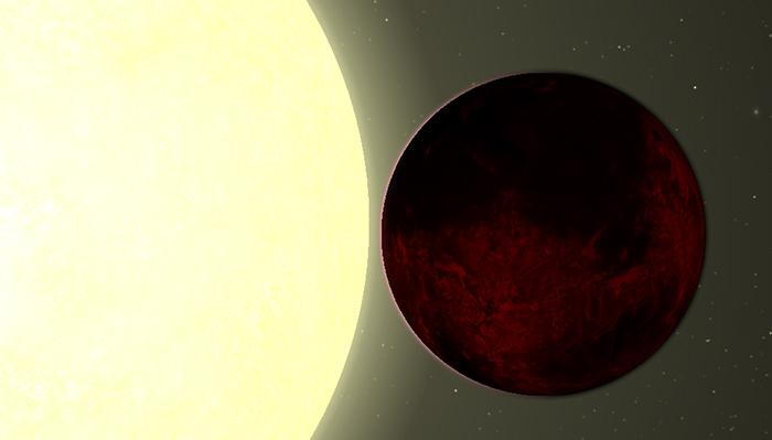 Kepler-78b - um planeta de lava
